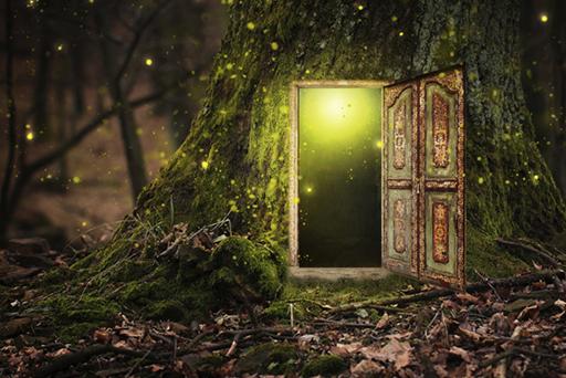La porta magica e la caverna